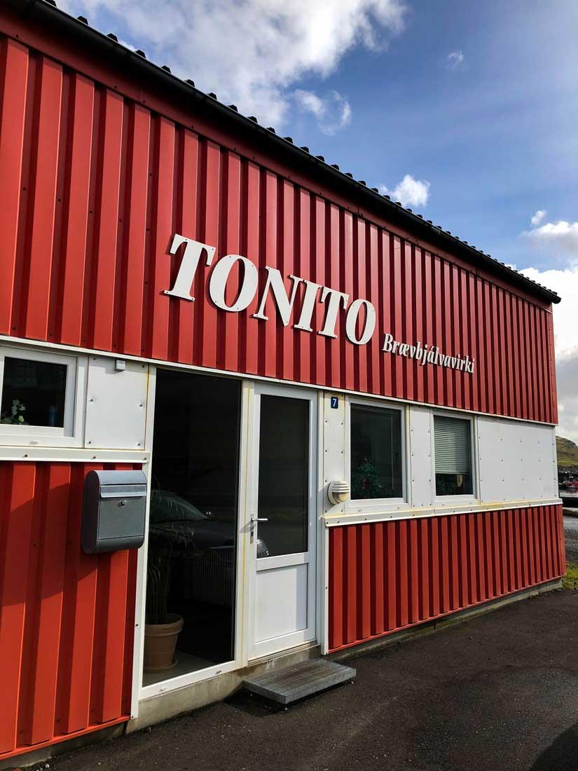 Um Tonito, Eiði, Føroyar