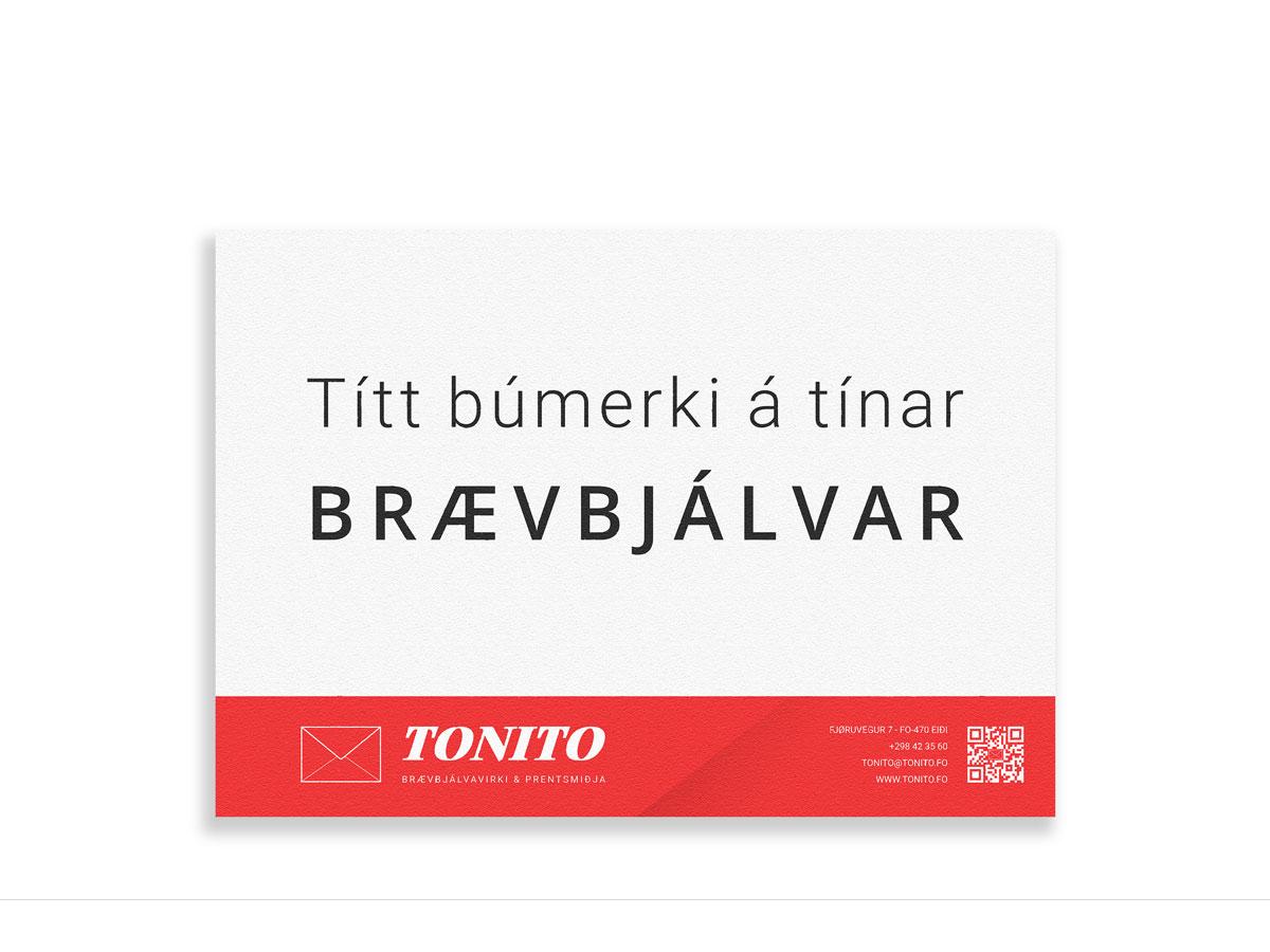 Tonito Braevbjalvi við prent
